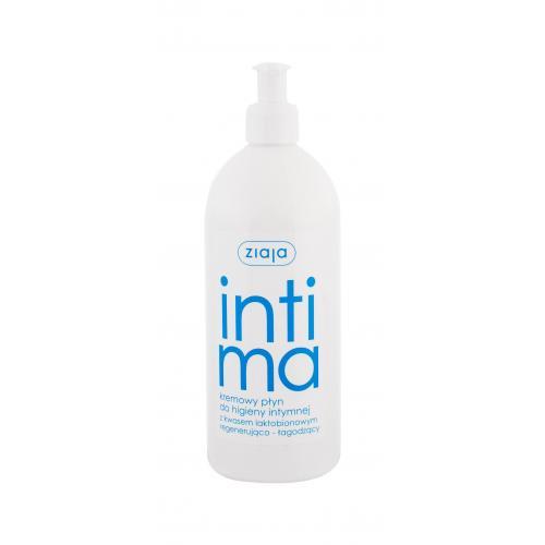 Ziaja Intimate Creamy Wash 500 ml regeneračné mydlo na intímnú hygienu pre ženy