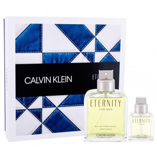Calvin Klein Eternity For Men darčeková kazeta pre mužov toaletná voda 200 ml + toaletná voda 30ml