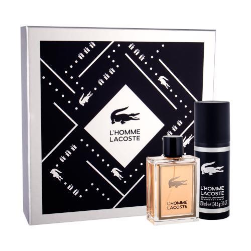 Lacoste L´Homme Lacoste darčeková kazeta pre mužov toaletná voda 100 ml + deodorant 150 ml