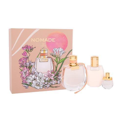 Chloé Nomade darčeková kazeta pre ženy parfumovaná voda 75 ml + parfumovaná voda 5 ml + telové mlieko 100 ml