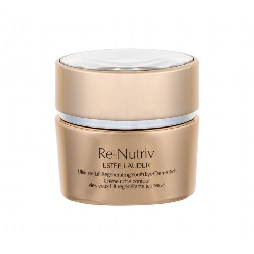 Estée Lauder Re-Nutriv Ultimate Lift Rich 15 ml protivráskový očný krém s bohatou textúrou pre ženy