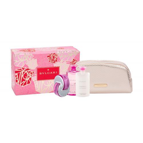 Bvlgari Omnia Pink Sapphire darčeková kazeta pre ženy toaletná voda 65 ml + telové mlieko 75 ml + sprchovací gél 75 ml + kozmetická taška