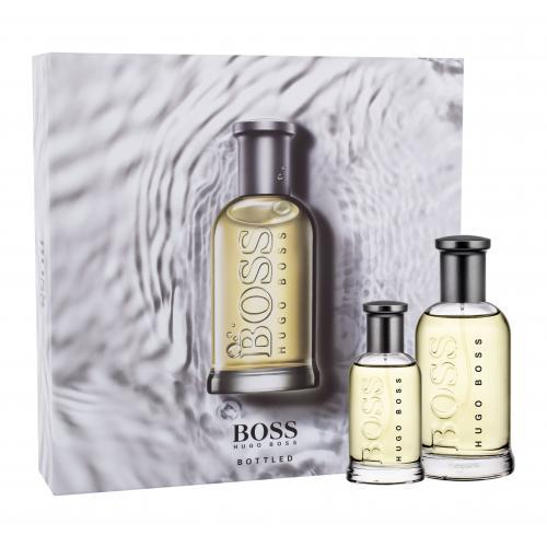 HUGO BOSS Boss Bottled darčeková kazeta pre mužov toaletná voda 100 ml + toaletná voda 30 ml