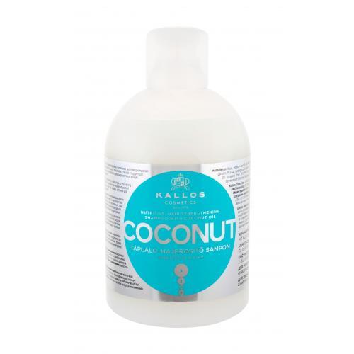 Kallos Cosmetics Coconut 1000 ml vyživujúci šampón s kokosovým olejom pre ženy