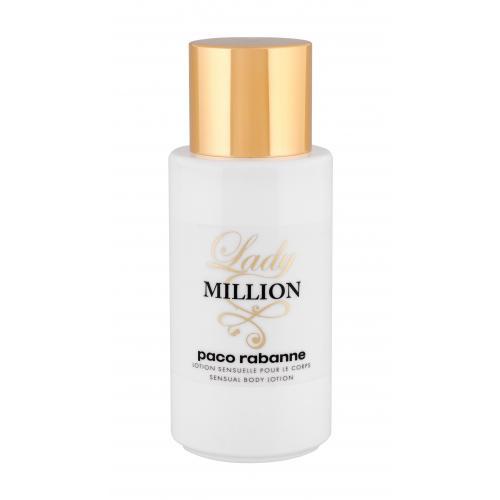 Paco Rabanne Lady Million 200 ml telové mlieko pre ženy