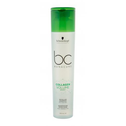 Schwarzkopf Professional BC Bonacure Collagen Volume Boost Micellar 250 ml micelárny šampón pre väčší objem vlasov pre ženy