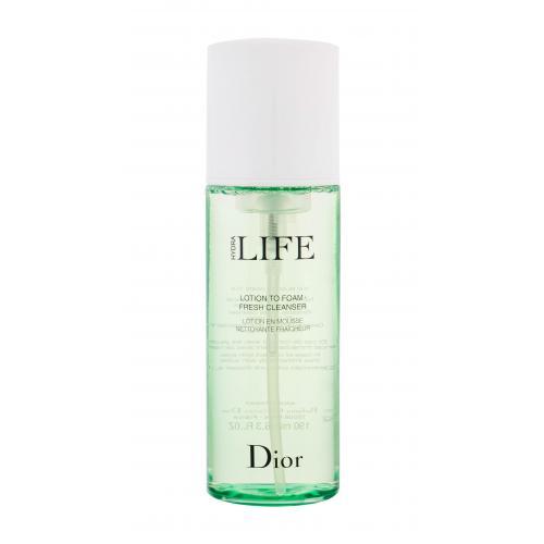 Christian Dior Hydra Life Lotion to Foam Fresh Cleanser 190 ml čistiaca pena pre ženy