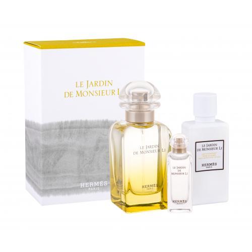 Hermes Le Jardin de Monsieur Li darčeková kazeta unisex toaletná voda 50 ml + telové mlieko 40 ml + toaletná voda 7,5 ml