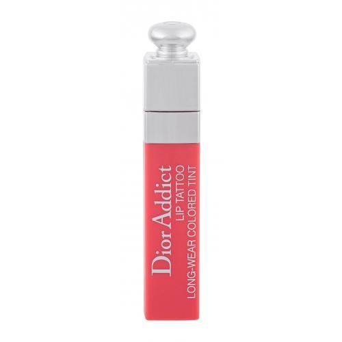 Christian Dior Dior Addict Lip Tattoo 6 ml dlhotrvajúci rúž pre ženy 251 Natural Peach