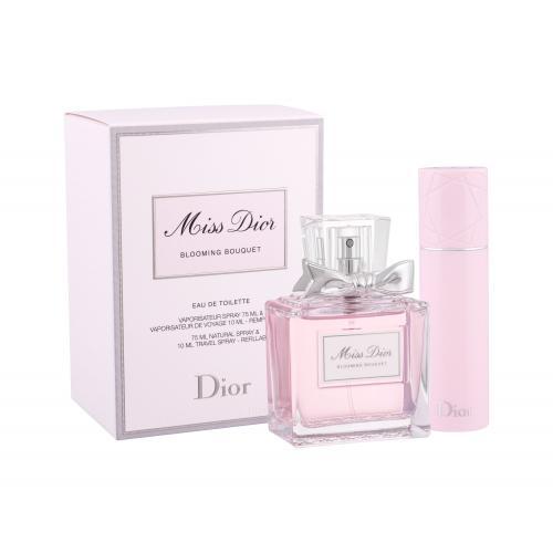 Christian Dior Miss Dior Blooming Bouquet 2014 pre ženy toaletná voda 75 ml + toaletná voda 10 ml naplniteľná