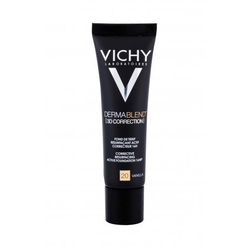 Vichy Dermablend™ 3D Correction SPF25 30 ml vyhladzujúci korekčný make-up pre ženy 20 Vanilla