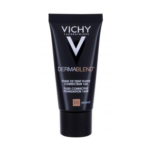 Vichy Dermablend™ Fluid Corrective Foundation SPF35 30 ml tekutý korekčný make-up pre ženy 55 Bronze