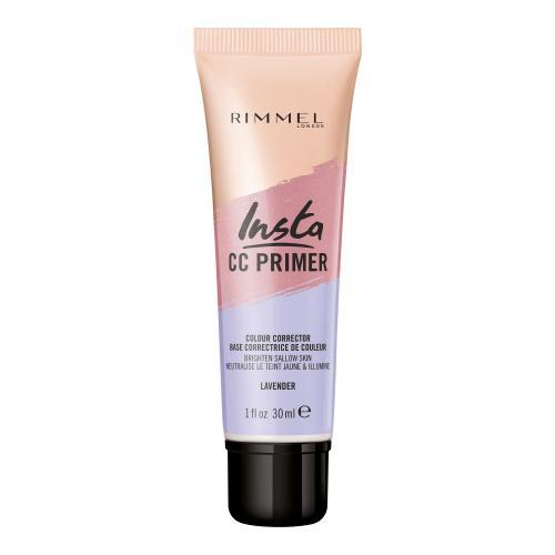 Rimmel London Insta CC Primer 30 ml podklad pod make-up pre ženy Lavender