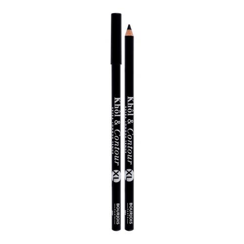 BOURJOIS Paris Khol & Contour XL 1,65 g dlhotrvajúca ceruzka na oči pre ženy 001 Noir-issime