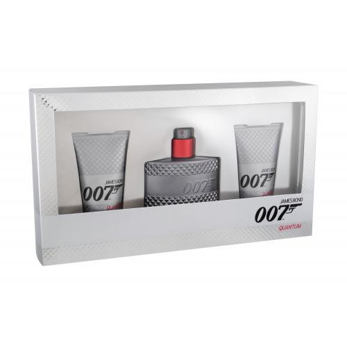 James Bond 007 Quantum pre mužov toaletná voda 50 ml + sprchovací gél 2x 50 ml