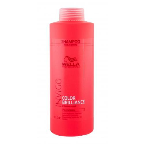 Wella Professionals Invigo Color Brilliance 1000 ml šampón pre farbené jemné vlasy pre ženy