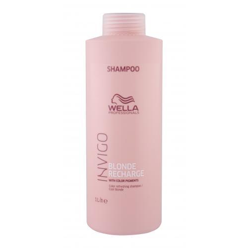Wella Professionals Invigo Blonde Recharge 1000 ml šampón pre blond vlasy pre ženy Cool Blonde