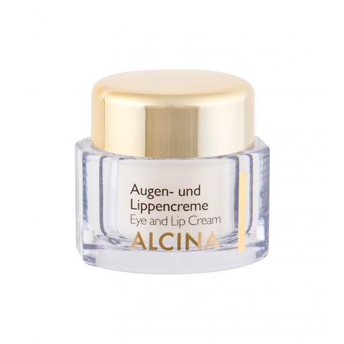 ALCINA Effective Care 15 ml krém na oči a pery pre ženy