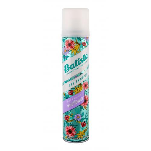 Batiste Wildflower 200 ml suchý šampón pre mastné vlasy pre ženy
