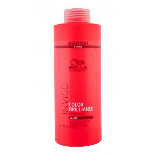 Wella Professionals Invigo Color Brilliance 1000 ml šampón pre hrubé farbené vlasy pre ženy