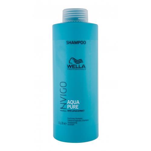 Wella Professionals Invigo Aqua Pure 1000 ml šampón pre hĺbkové čistenie pre ženy