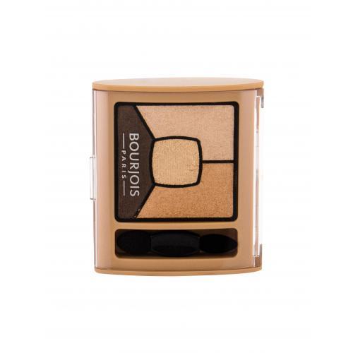 BOURJOIS Paris Smoky Stories Quad Eyeshadow Palette 3,2 g paletka očných tieňov pre ženy 16 I Gold It