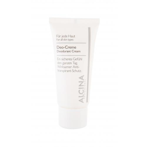 ALCINA Deodorant Creme 50 ml deo-krém s antiperspiračným účinkom pre ženy