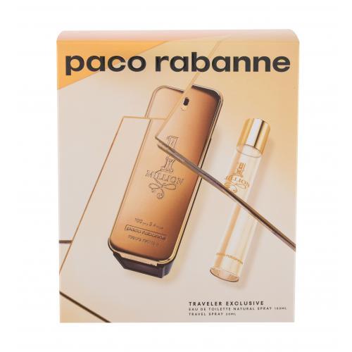 Paco Rabanne 1 Million darčeková kazeta pre mužov toaletná voda 100 ml + toaletná voda 20 ml