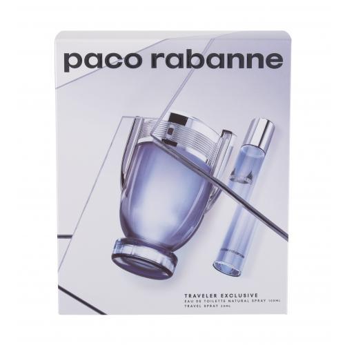 Paco Rabanne Invictus darčeková kazeta pre mužov toaletná voda 100 ml + toaletná voda 20 ml