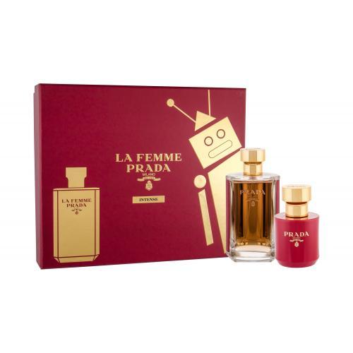 Prada La Femme Intense pre ženy parfumovaná voda 100 ml + telové mlieko 100 ml