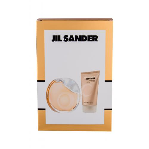 Jil Sander Sensations darčeková kazeta pre ženy Edt 40ml + 50ml tělový krém