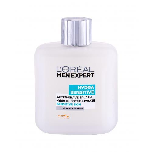 L´Oréal Paris Men Expert Hydra Sensitive 100 ml voda po holení pre citlivú pleť pre mužov