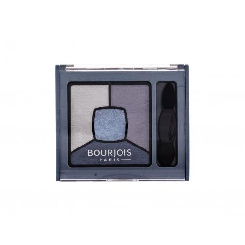 BOURJOIS Paris Smoky Stories Quad Eyeshadow Palette 3,2 g pre ženy 08 Ocean Obsession