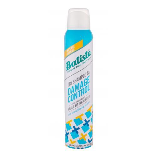 Batiste Damage Control 200 ml suchý šampón pre slabé a poškodené vlasy pre ženy