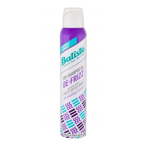Batiste De-Frizz 200 ml suchý šampón pre strapaté a nepoddajné vlasy pre ženy