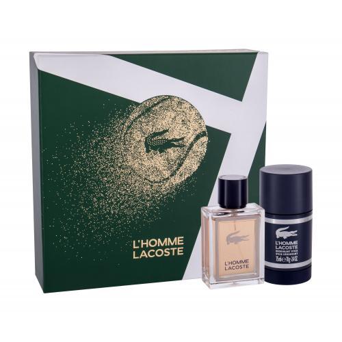 Lacoste L´Homme Lacoste darčeková kazeta pre mužov toaletná voda 50 ml + deostick 75 ml