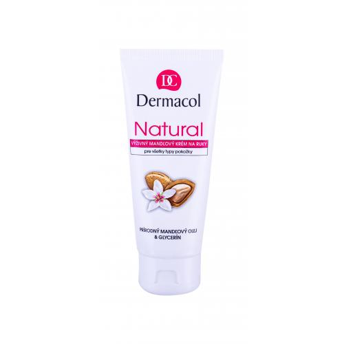 Dermacol Natural Almond 100 ml výživný mandlový krém na ruky pre ženy