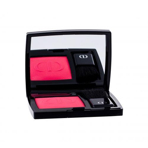 Christian Dior Rouge Blush 6,7 g dlhotrvajúci a vysoko pigmentovaná lícenka pre ženy 047 Miss