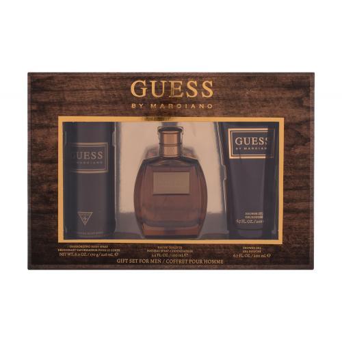 GUESS Guess by Marciano darčeková kazeta pre mužov toaletná voda 100 ml + sprchovací gél 200 ml + dezodorant 226 ml