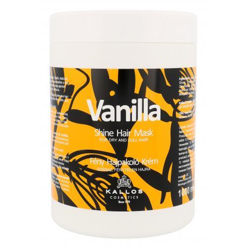 Kallos Cosmetics Vanilla 1000 ml maska pre oživenie suchých vlasov pre ženy