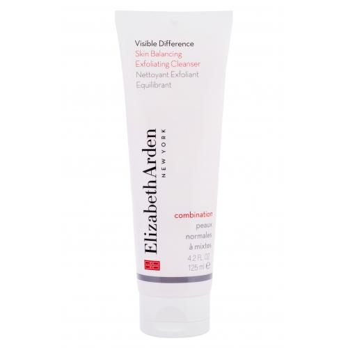 Elizabeth Arden Visible Difference Skin Balancing Cleanser 125 ml peeling pre ženy