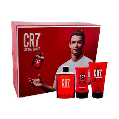 Cristiano Ronaldo CR7 darčeková kazeta pre mužov toaletná voda 100 ml + sprchovací gél 150 ml + balzam po holení 100 ml