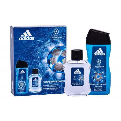 Adidas UEFA Champions League pre mužov toaletná voda 100 ml + sprchovací gél 250 ml