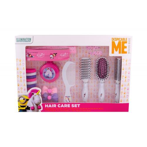 Minions Unicorns poškodená krabička pre deti Complete Hair Care Kit
