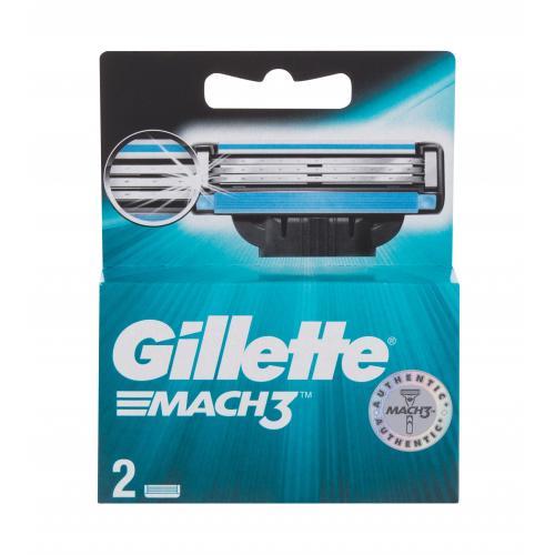 Gillette Mach3 2 ks náhradné ostrie pre mužov