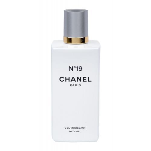 Chanel No. 19 200 ml parfumovaný sprchovací gél poškodená krabička pre ženy