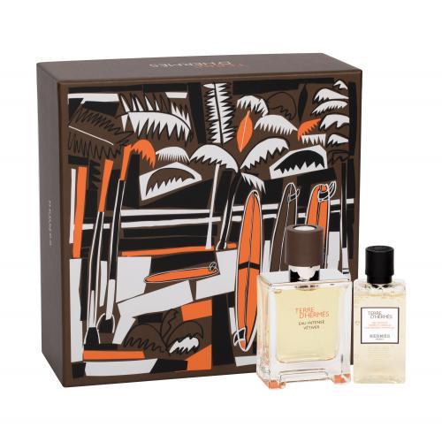 Hermes Terre d´Hermès Eau Intense Vétiver darčeková kazeta pre mužov parfumovaná voda 50 ml + sprchovací gél 40 ml