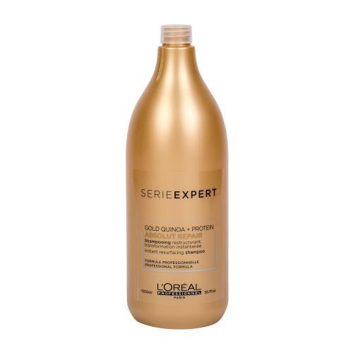 L´Oréal Professionnel Série Expert Absolut Repair Gold Quinoa + Protein 1500 ml šampón pre veľmi poškodené vlasy pre ženy