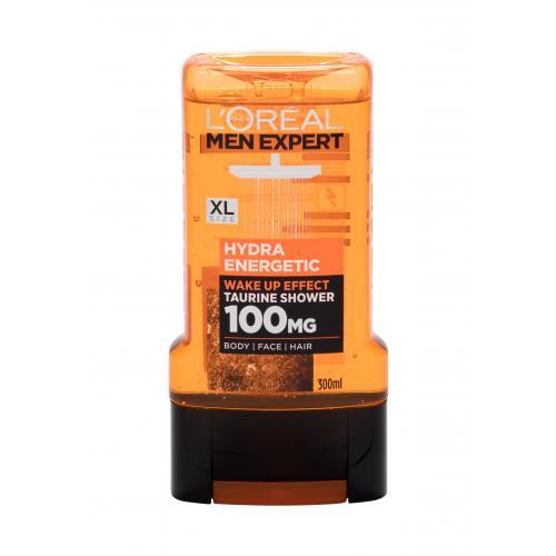 L´Oréal Paris Men Expert Hydra Energetic 100 MG 300 ml energizujúci sprchovací gél pre mužov