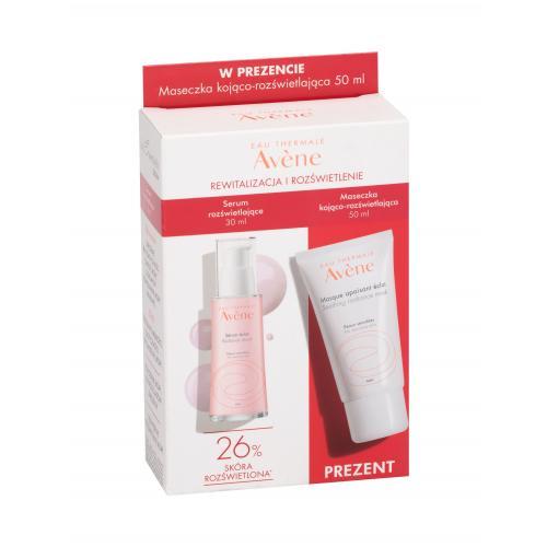 Avene Les Essentiels darčekový set pre rozjasnenie citlivej pleti pre ženy pleťová maska 50 ml + hydratačné sérum Sérum Éclat 30 ml